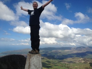 Me on Top of Cadair